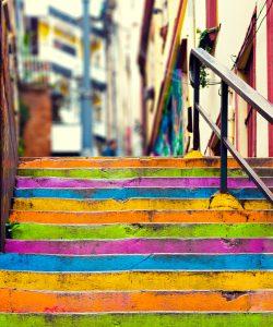 Escaleras Valparaíso